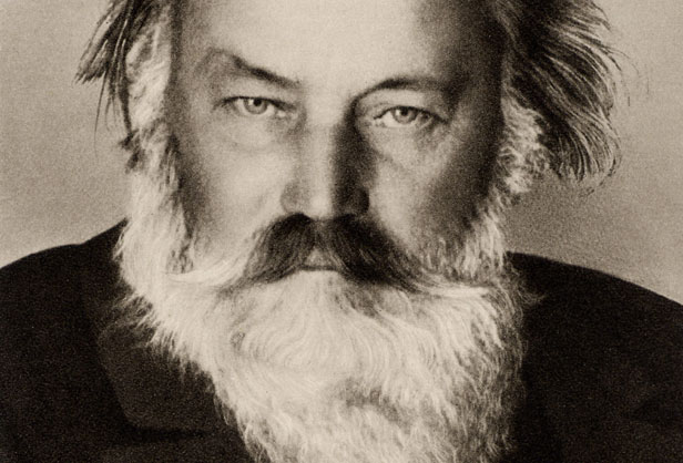 Johannes Brahms in the last year of his life.