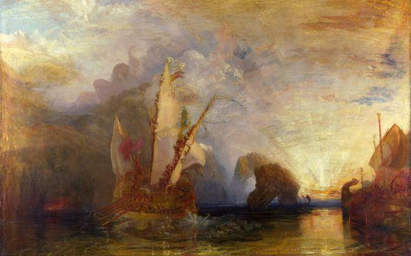 Ulysses Deriding Polyphemus, by J.M.W. Turner
