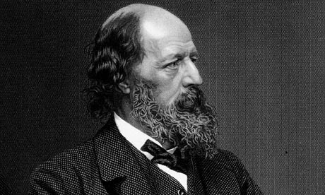 Alfred, Lord Tennyson (1809-1892). Tennyson was named Poet Laureate in 1850. He's buried in Poet's Corner at Westminster Abbey.