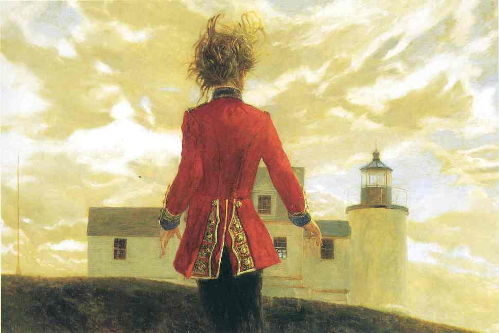 Lighthouse (1993) Oil on panel, 30 x 45 inches