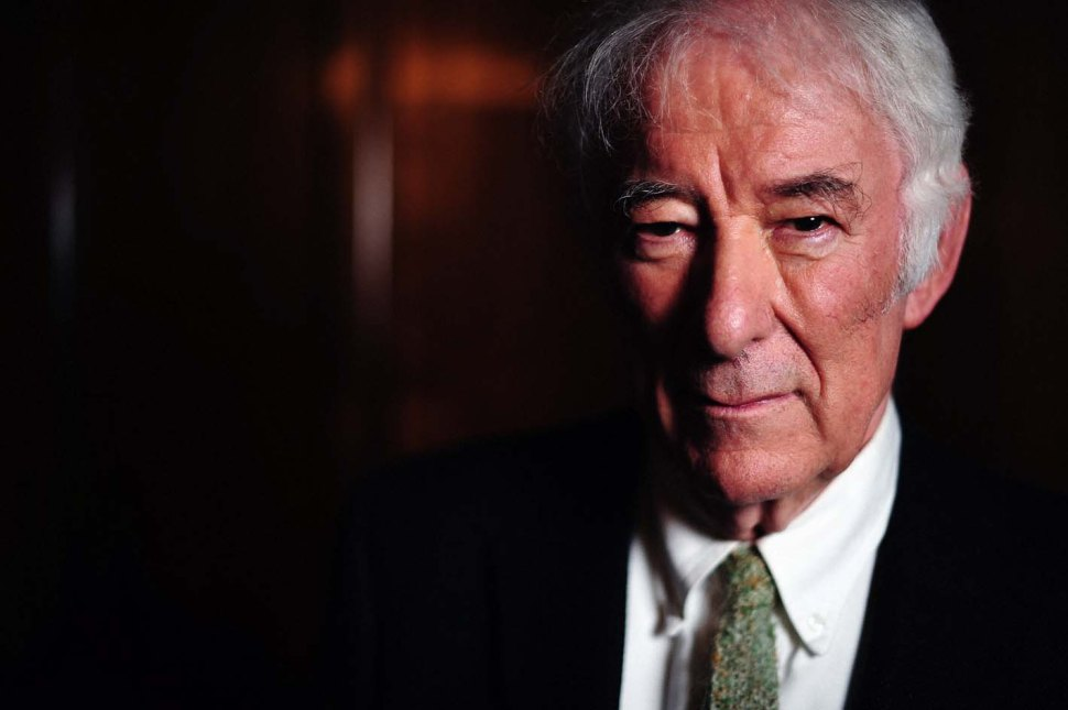 Seamus Heaney (1939-2013) A son of Northern Ireland.  Poet.