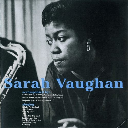 Sarah Vaughn album cover