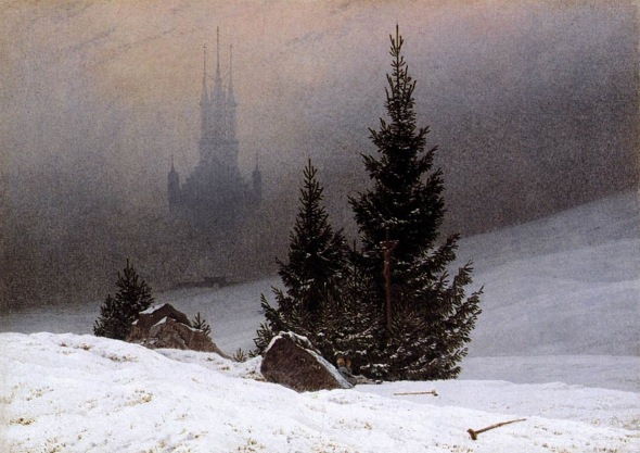 Winter Landscape (~1811), by Caspar David Friedrich