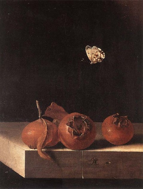 c. 1705 Oil on paper on panel, 27 x 20 cm Private collection