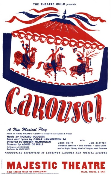 Another layer of trivia: the lead in the original Broadway production of Carousel was John Raitt, father of Bonnie Raitt, a fine guitarist in her own right