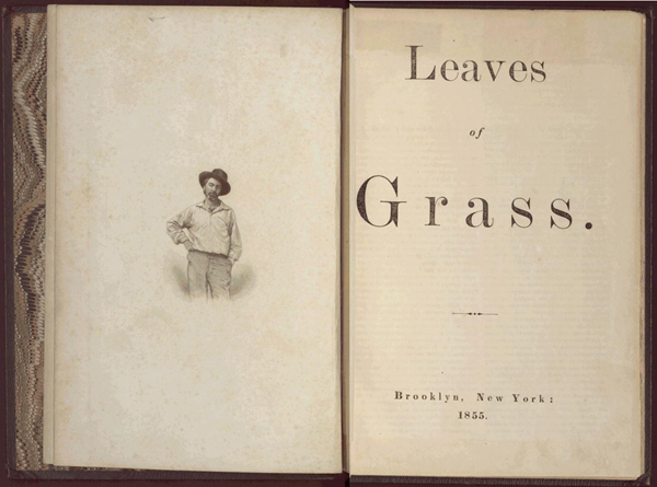A first edition (1855) of Leaves of Grass
