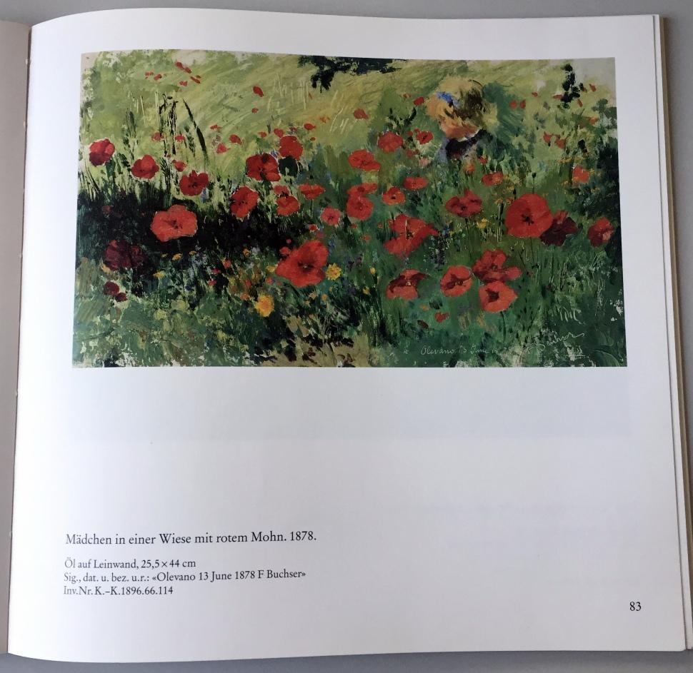 Buchser catalog