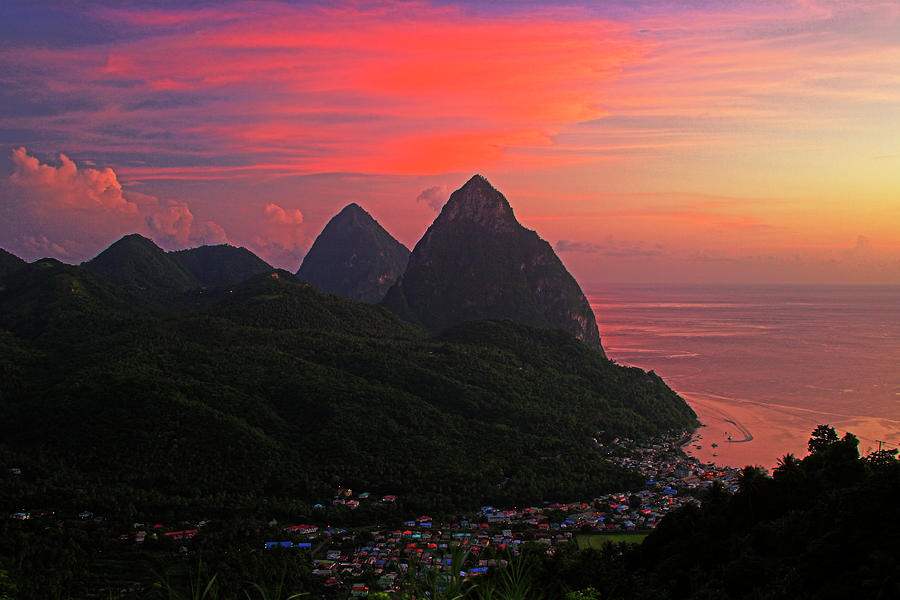 pitons-at-sunset-st-lucia-chester-williams