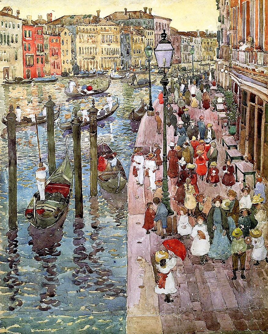 Prendergast_The Grand Canal (2)