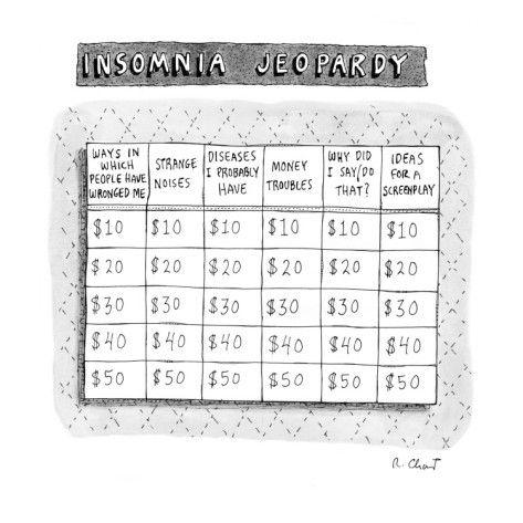 Insomnia Jeopardy